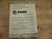 Seznam náhradních dílů vozů Škoda Octavia, Octavia Super, Octavia Combi, Felicia, Felicia Super