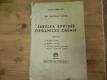 Tabulka synthes organické chemie