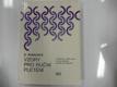 Vzory pro ruční pletení